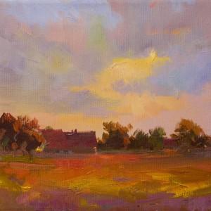 Sunset. Pidhirtzi|Захід. Підгірці