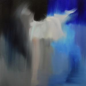 oil ballerina painting
