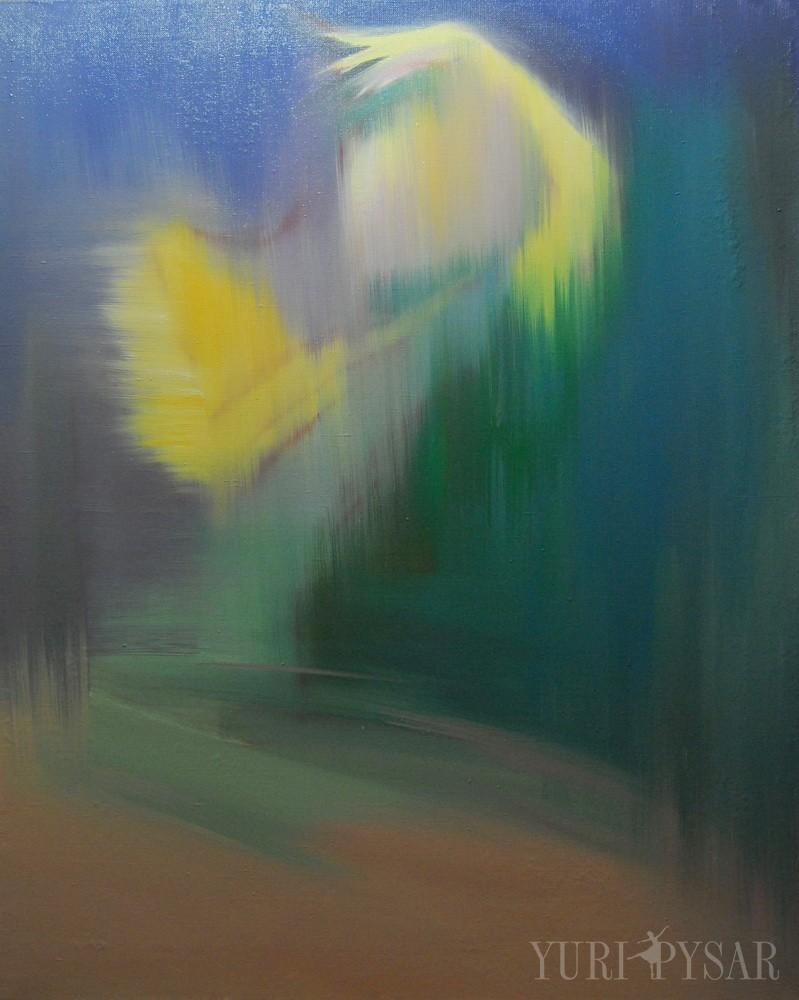abstract ballerina art