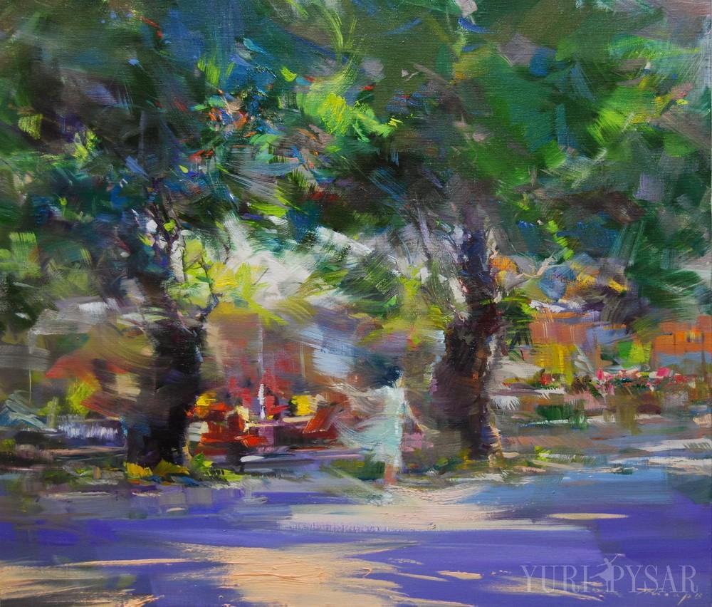oil on cavas landscape