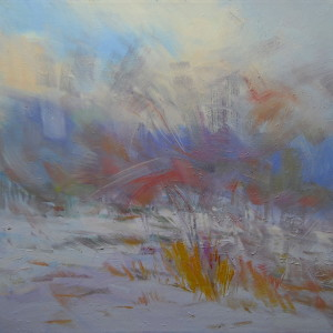 artwork of an abstract landscape