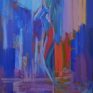 голуба картини жінка ню
