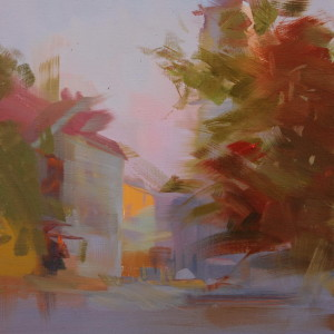 painting of ivano-frankivsk city