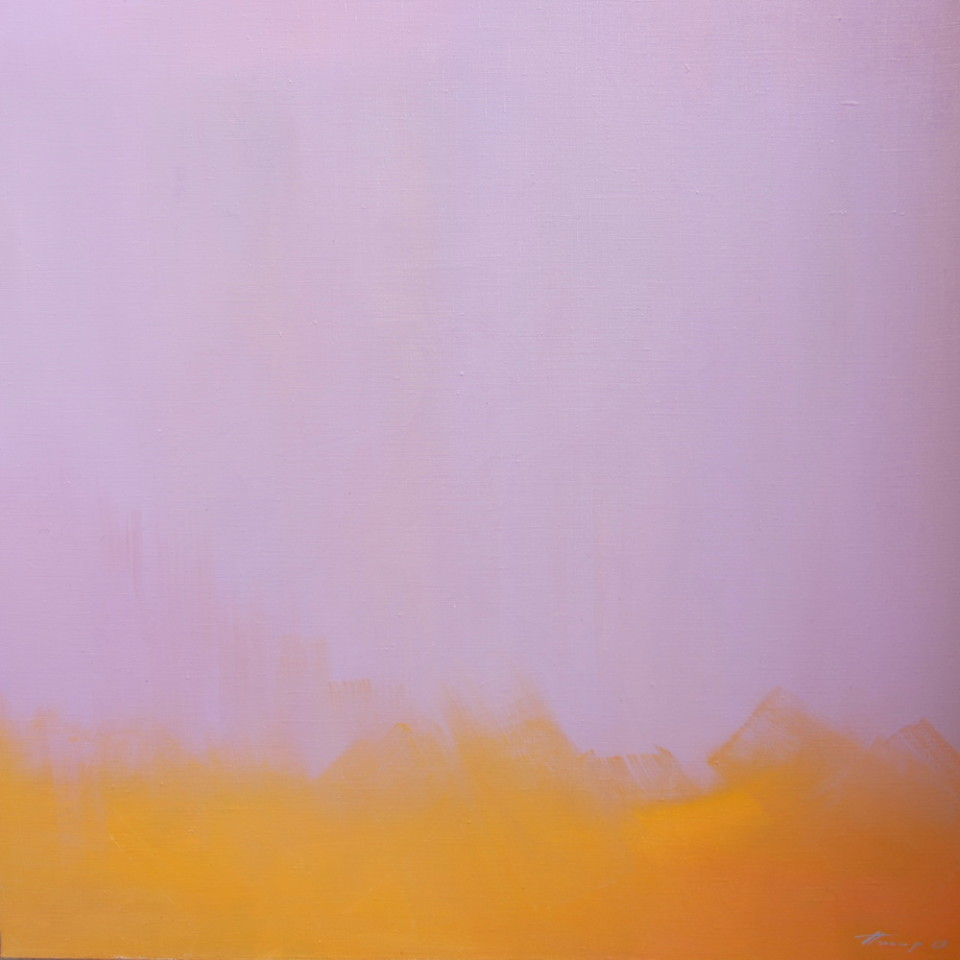 color field painting abstract landscape
