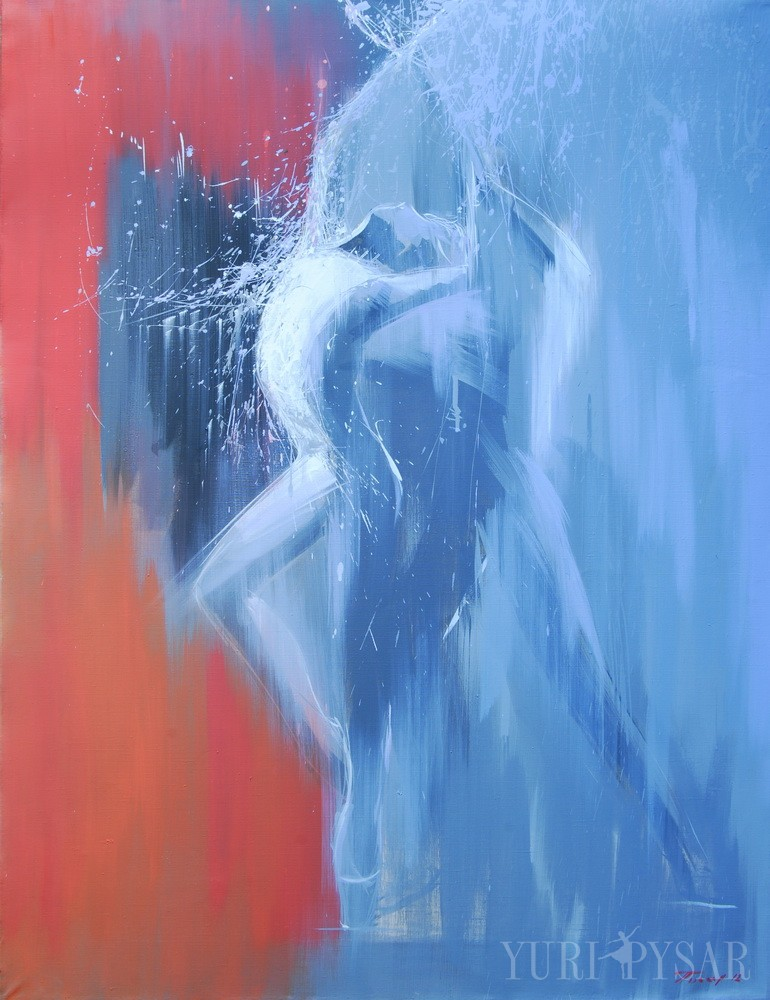 couple in love painting dancing