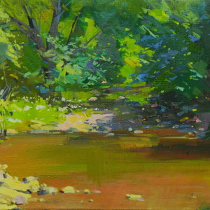 oil nature painting