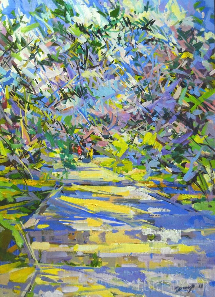 oil impressionism art by Yuri Pysar