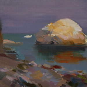 seascape art on canvas