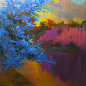 contemporary landscape art
