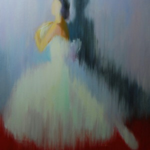 contemporary ballet painting