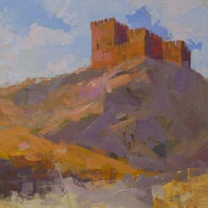 картина фортеця судак