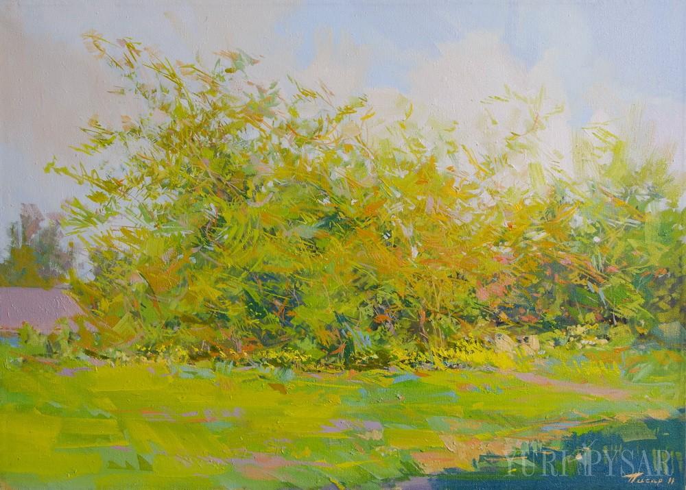 colorful landscape art