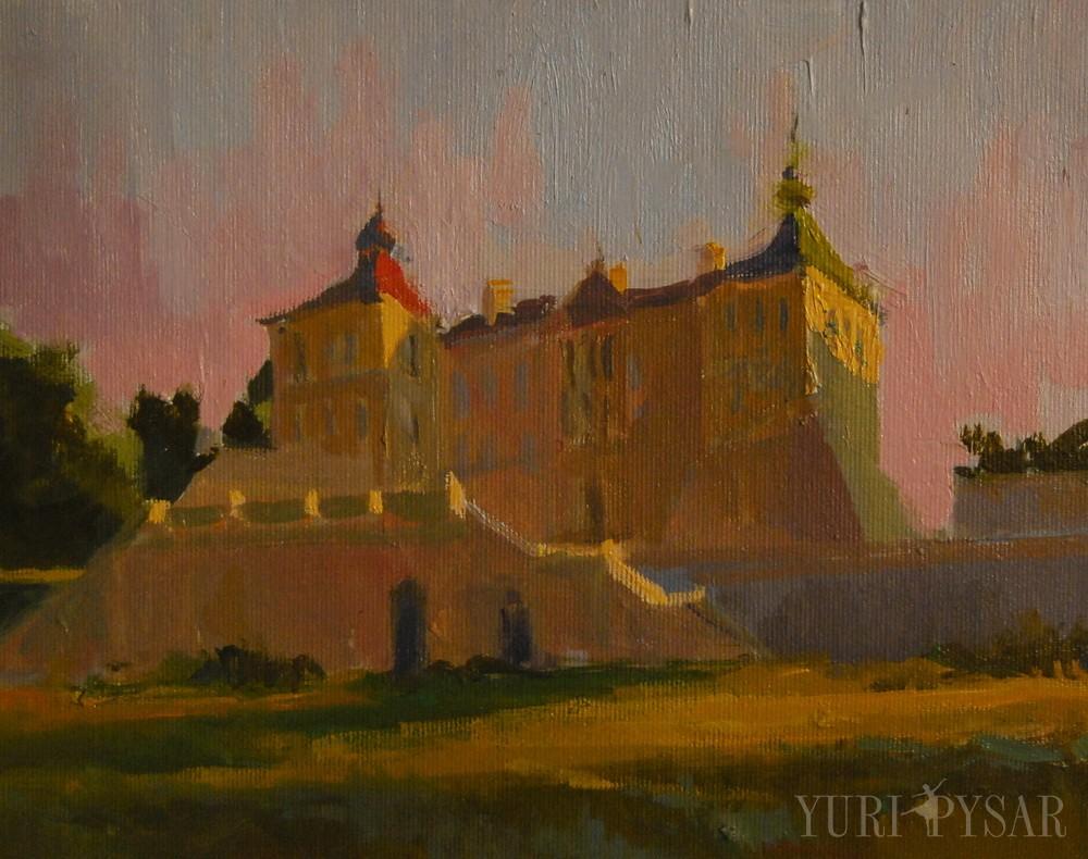 картина підгорецького замку