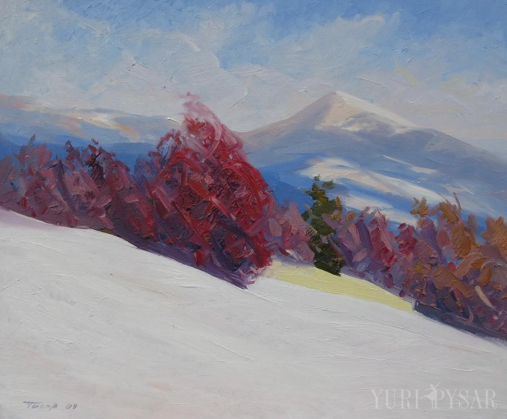 oil canvas artwork by Yuri Pysar