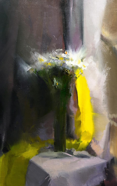 картина квіти ромашки