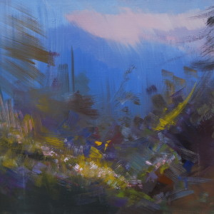 абстрактна картина природи