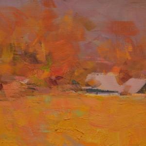 картина природи восени, художник івано-франківськ