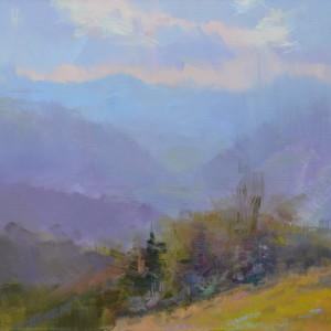 картина пейзаж природи гір карпат
