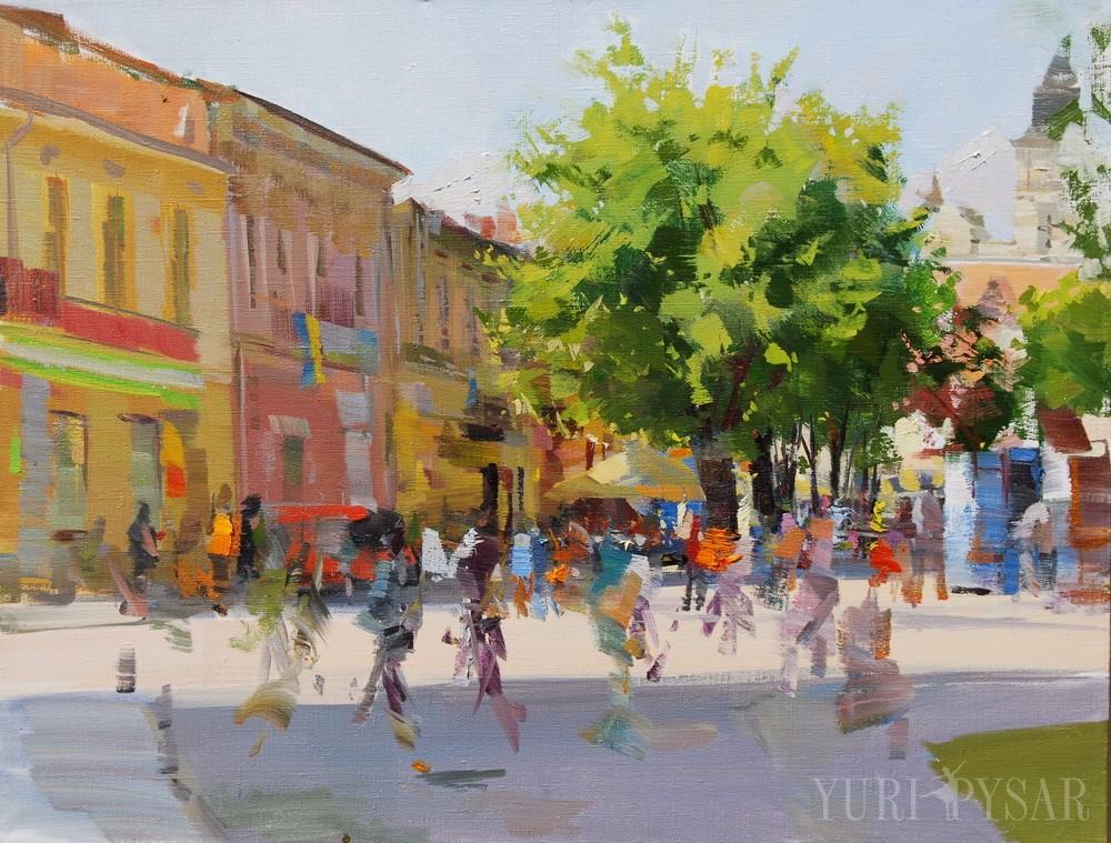 сучасна картина місто Івано-Франківськ