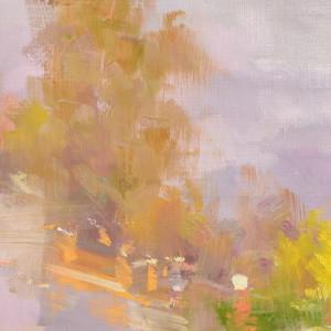сучасний пейзаж картина золотої осені