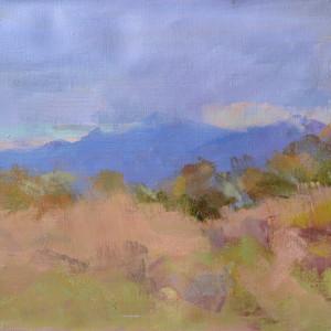 пейзаж осені в горах