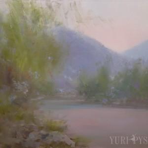 ранковий пейзаж природи