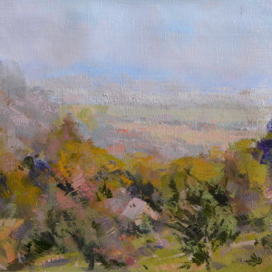 картина осінь в карпатах