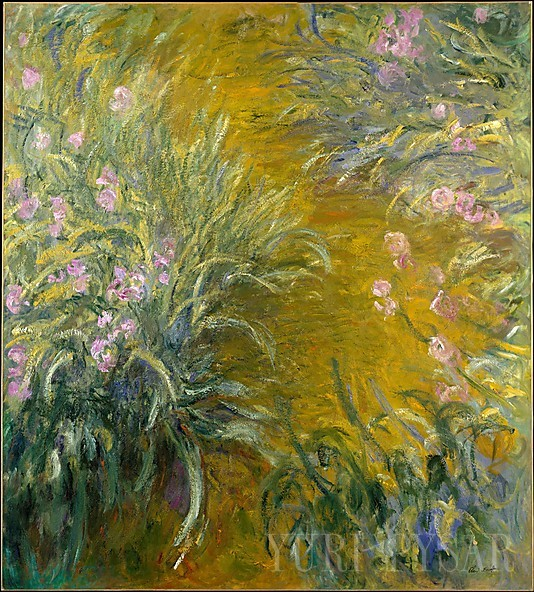 Claude Monet/The Path through the Irises/ 1914-1917