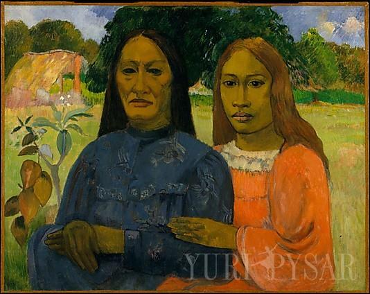 Paul Gauguin/ Two Women/ 1901-02