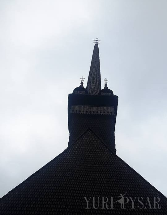 Wooden Church. Davydovo | Дерев'яна церква. Давидово