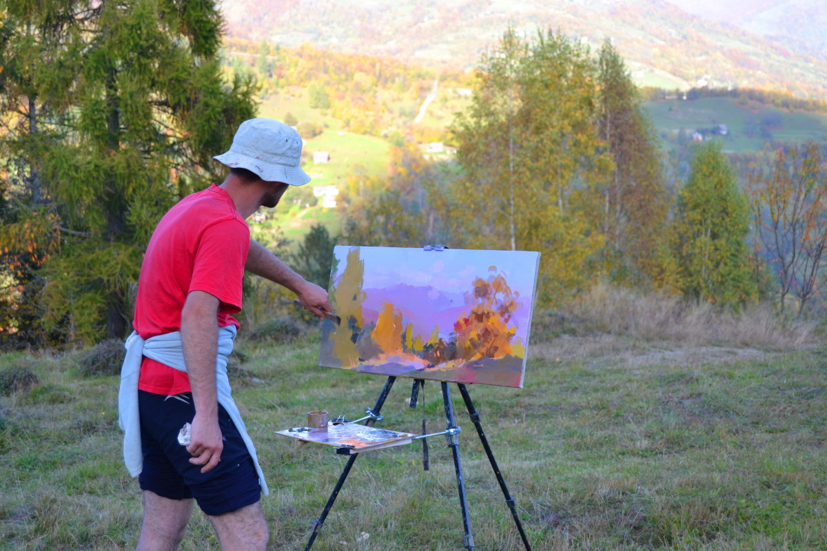 yuri pysar painting