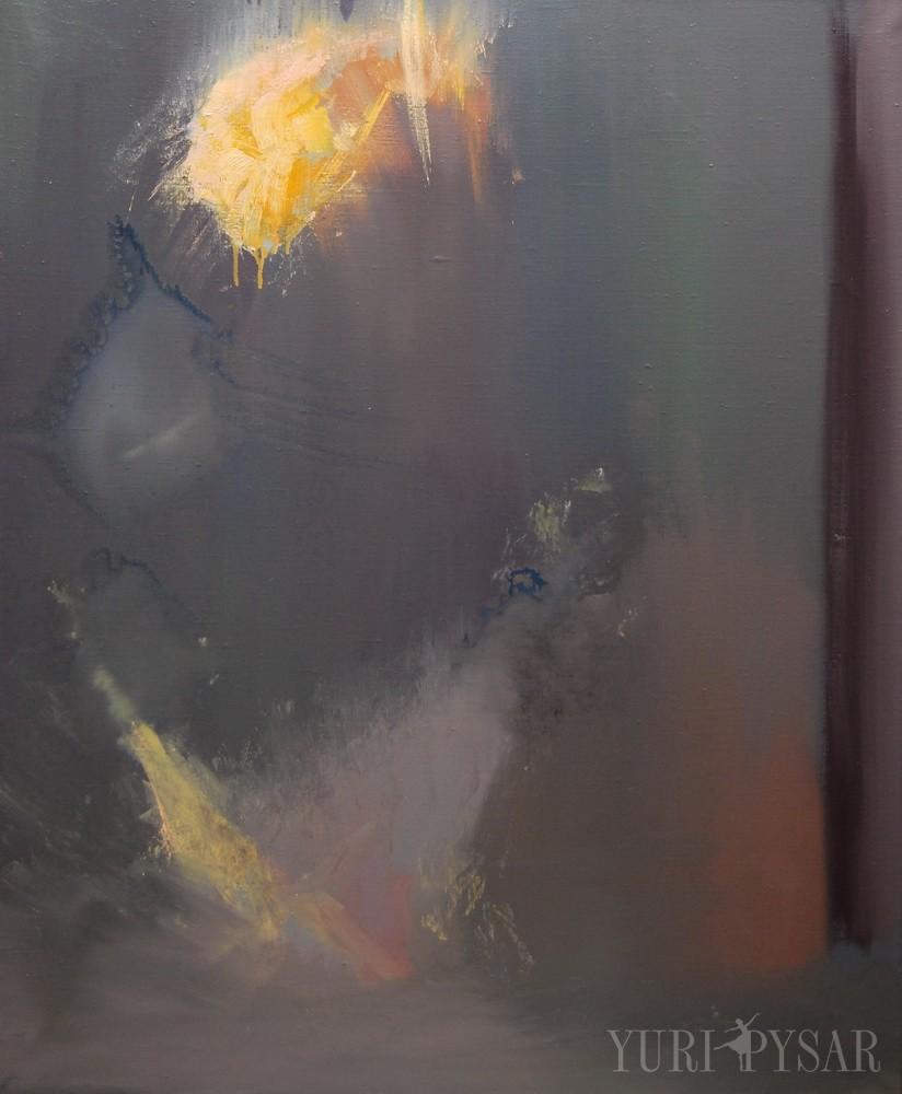 beautiful ballerina painting in oil