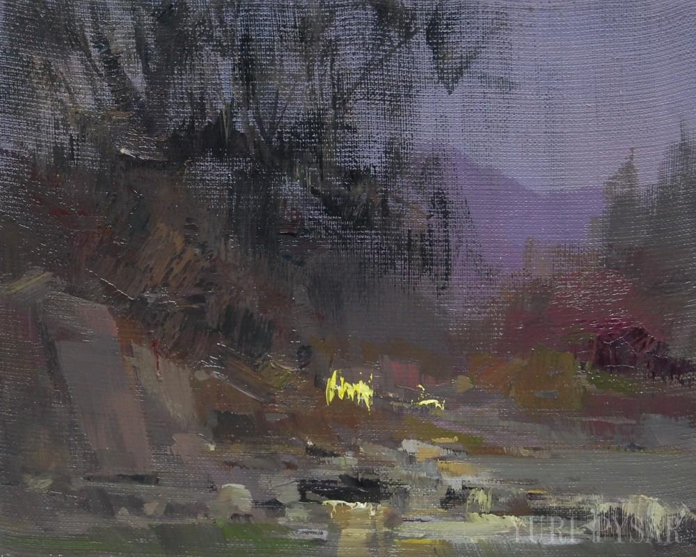 landscape artwork canvas oil painting