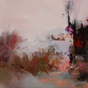 abstract landscape canvas contemporary art