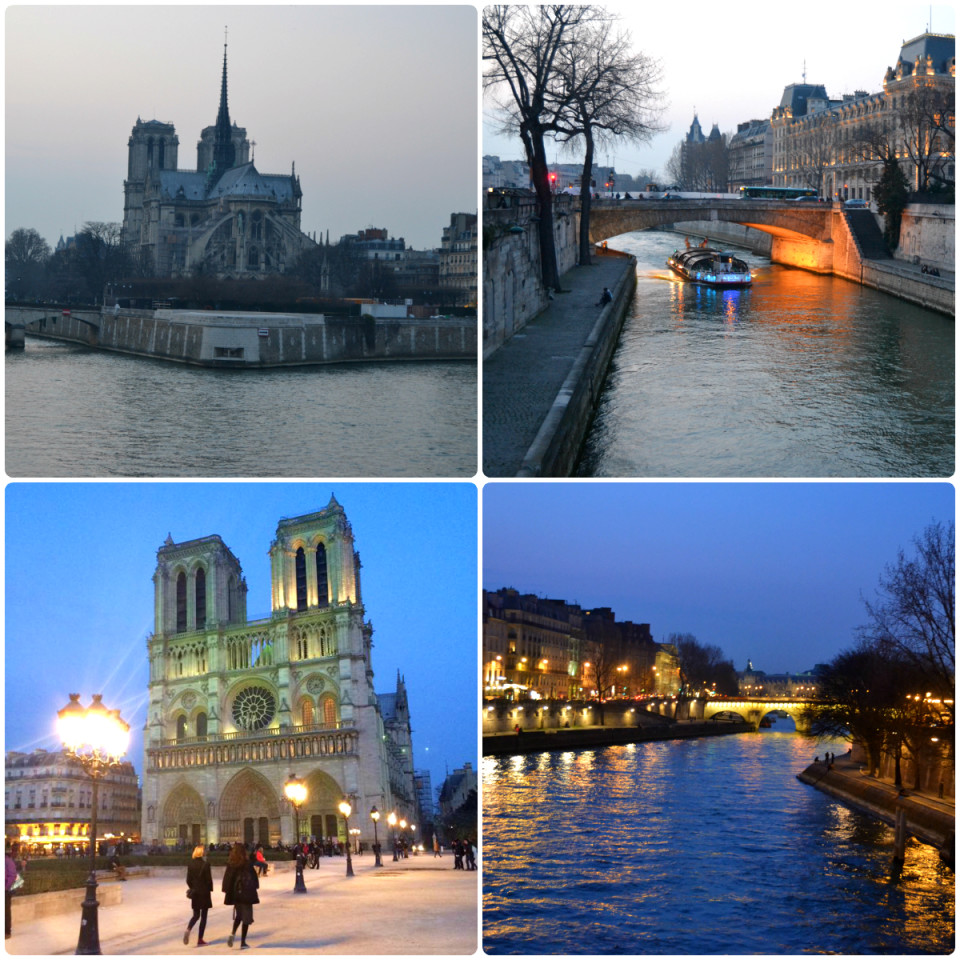 Paris the best city in the world in night lights