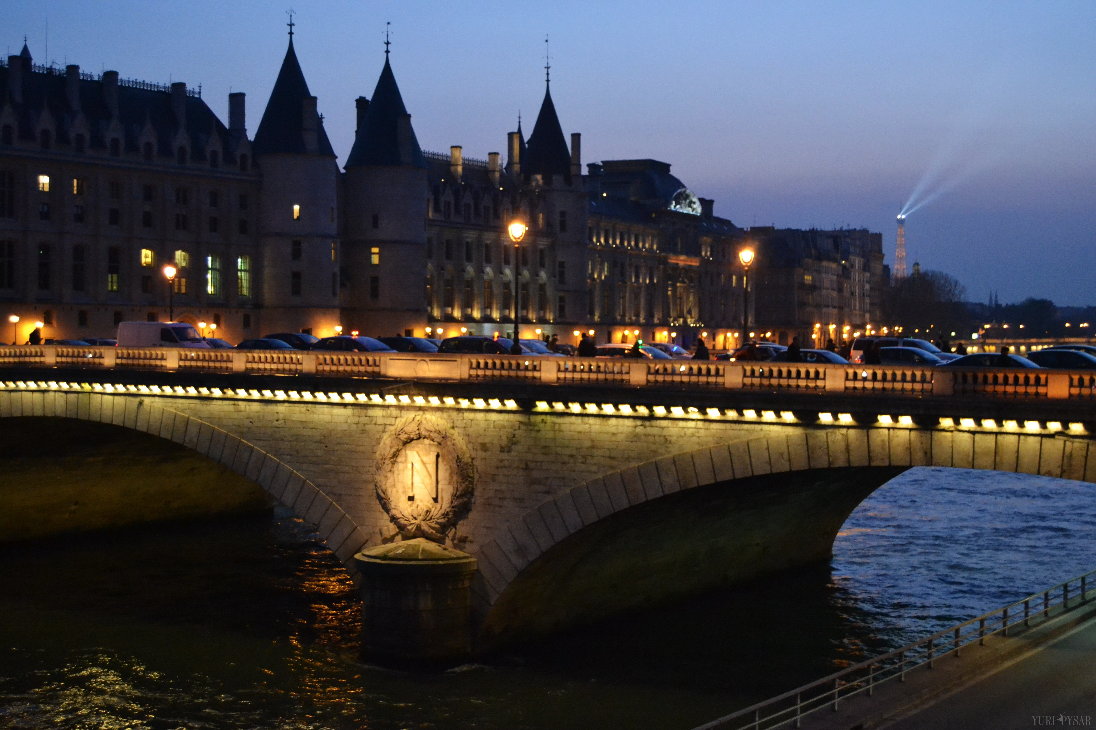 pont au change in paris