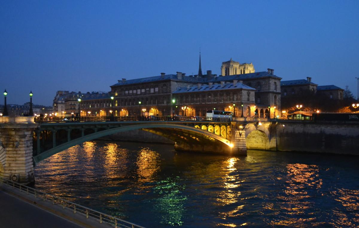 Parisian bridge Pont da'Arcole