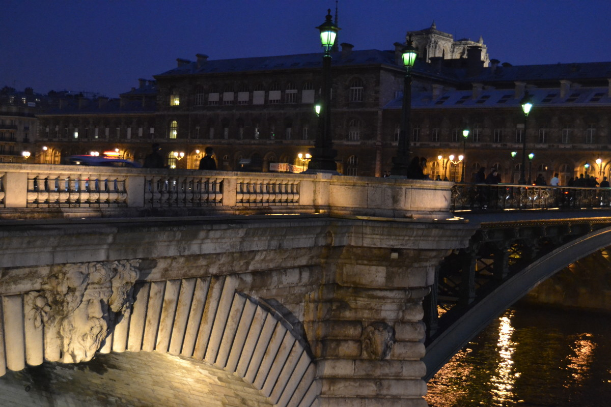 night lights in Paris, Pont d'Arcole