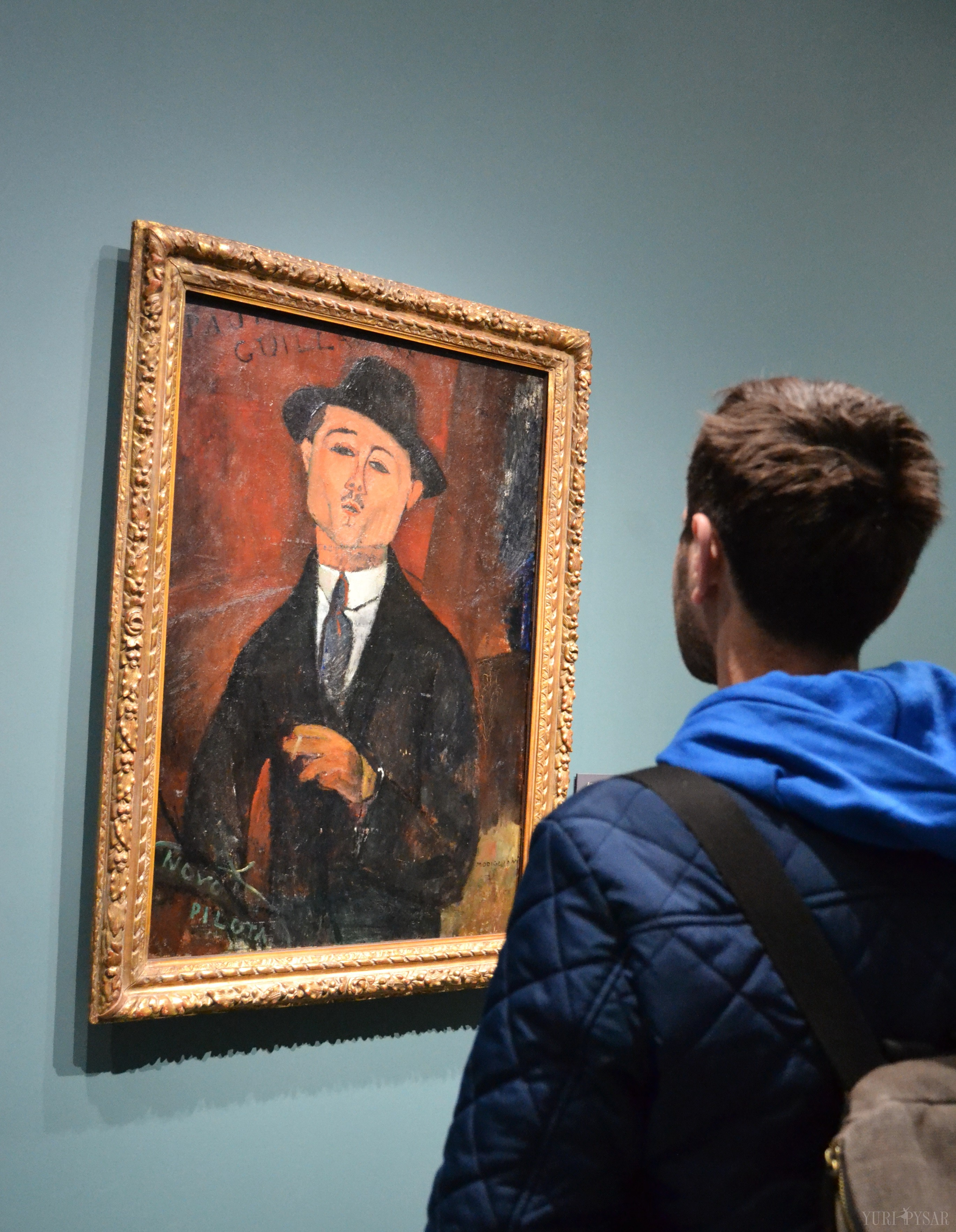 amedeo modigliani's portrait of his friend Paul Guillaume