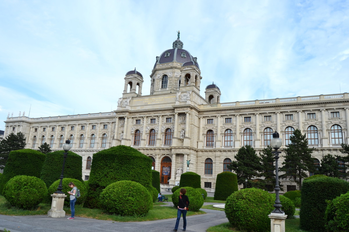 museum of nature in Vienna, Austria