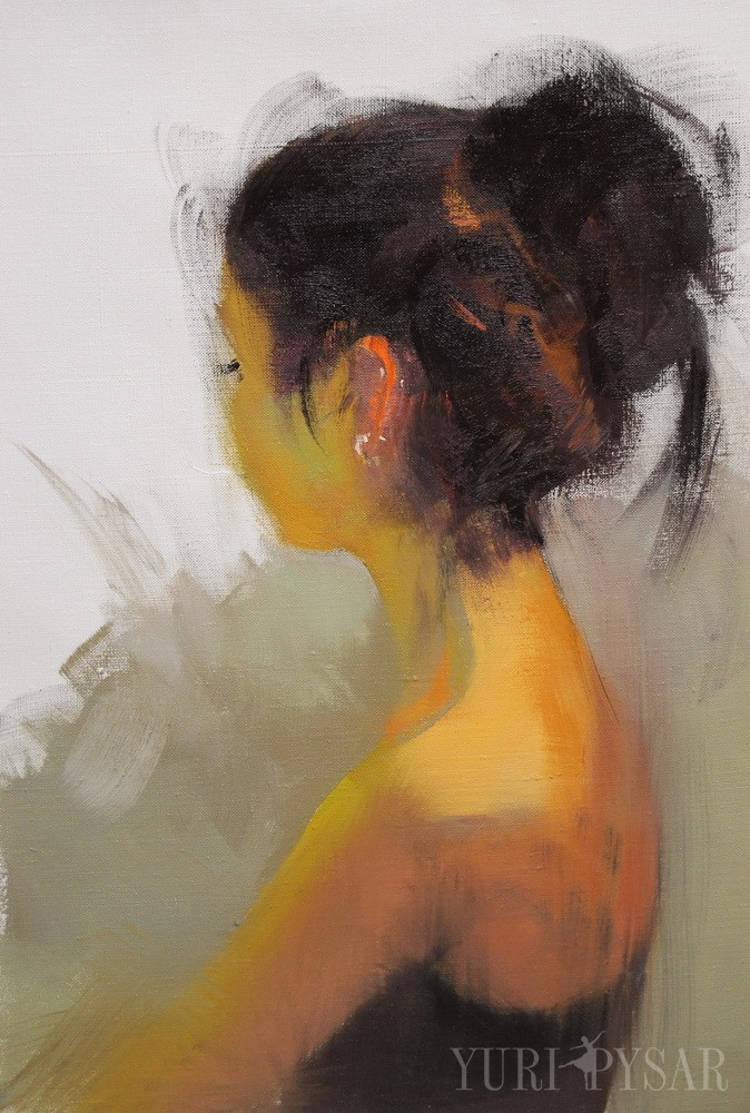 oil painting from nude series