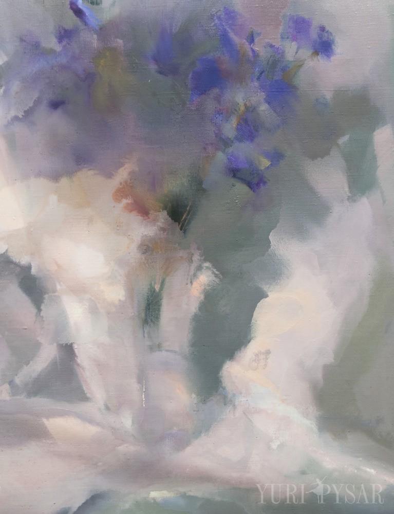 сучасний живопис картина абстрактний натюрморт в сірому