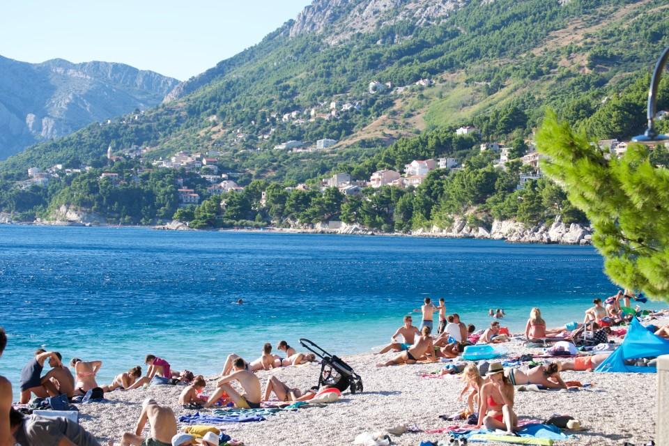 brela-popular-beach-croatia