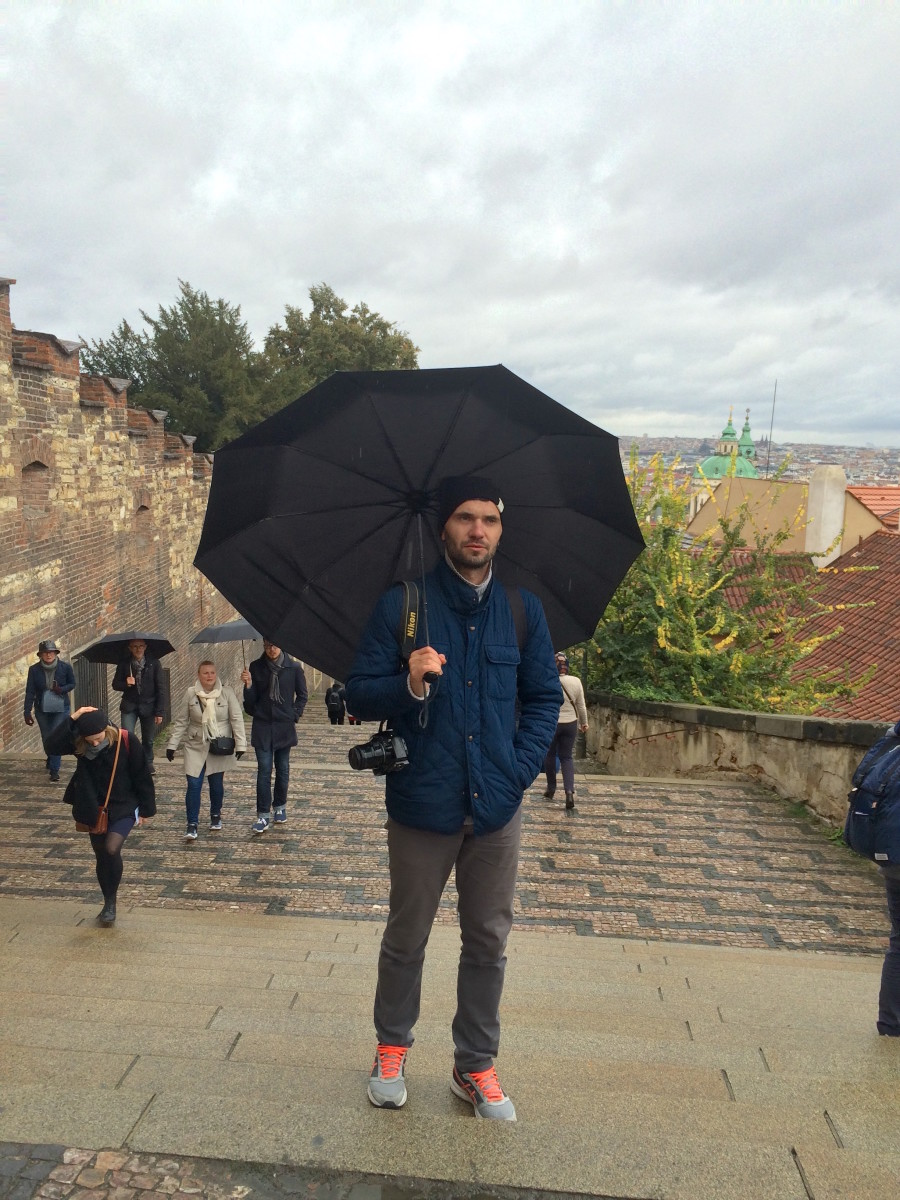 On the Way to Prague Palace