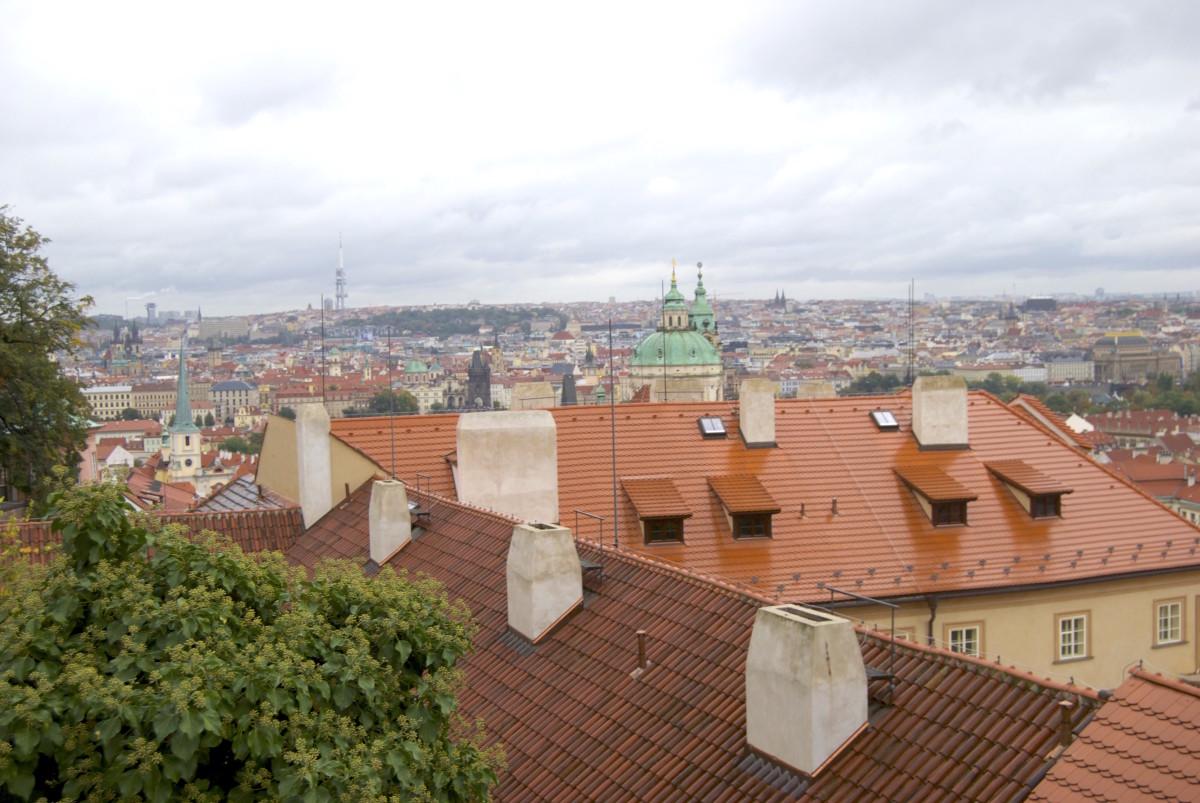 Prag red roofs | Червоні дахи Праги