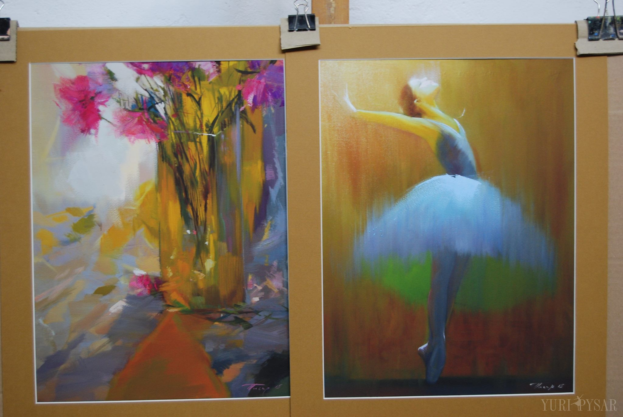 giclee art print of the original paintings on canvas