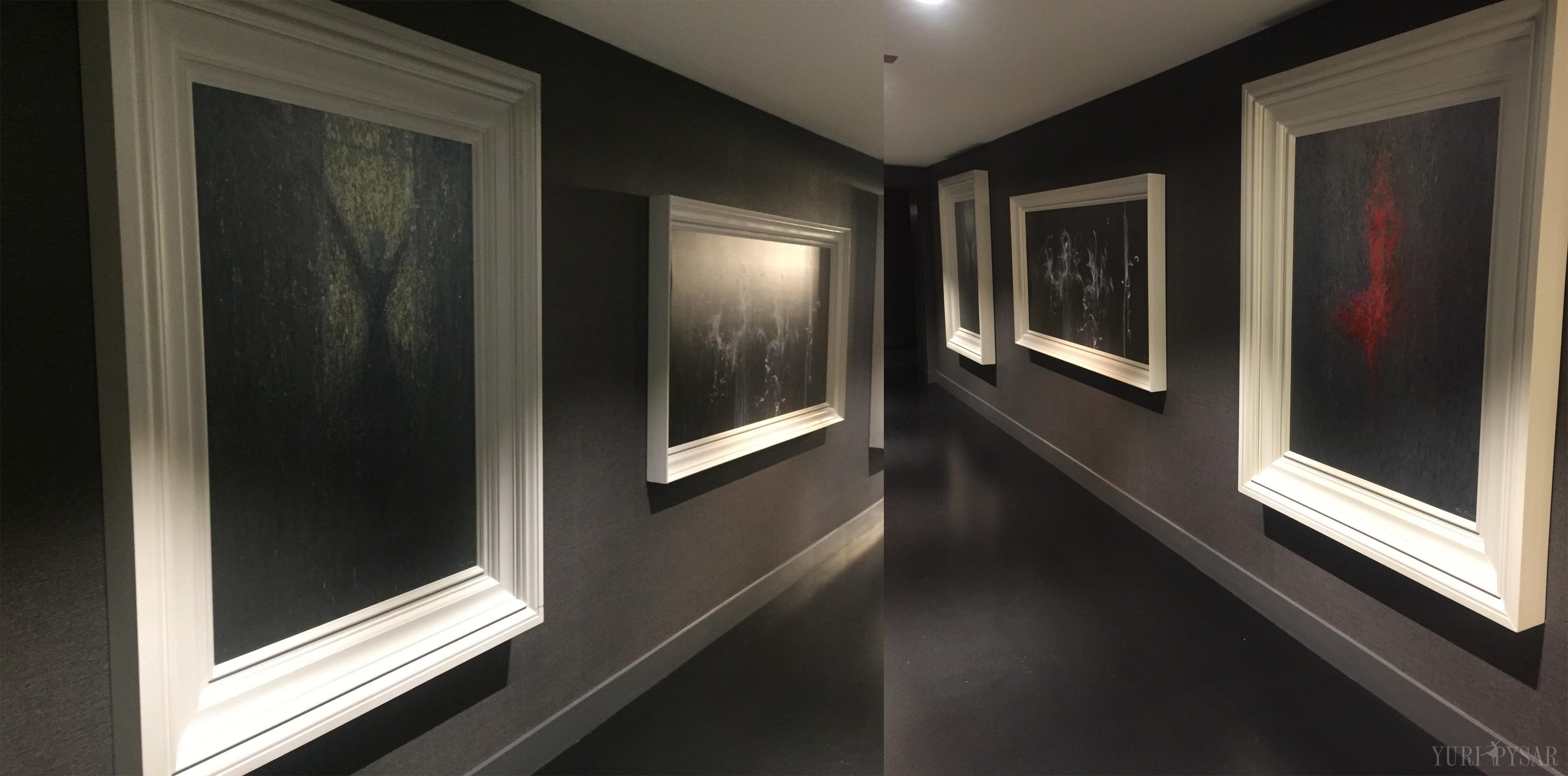 yuri pysar paintings in chicago renaissance hotel