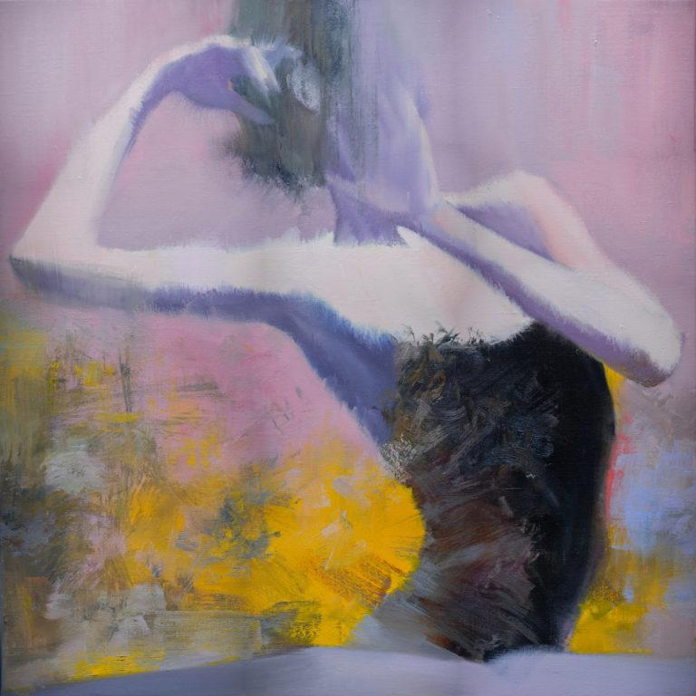 картина маслом живопис балерина фігуратив
