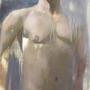 male nude original by Yuri Pysar