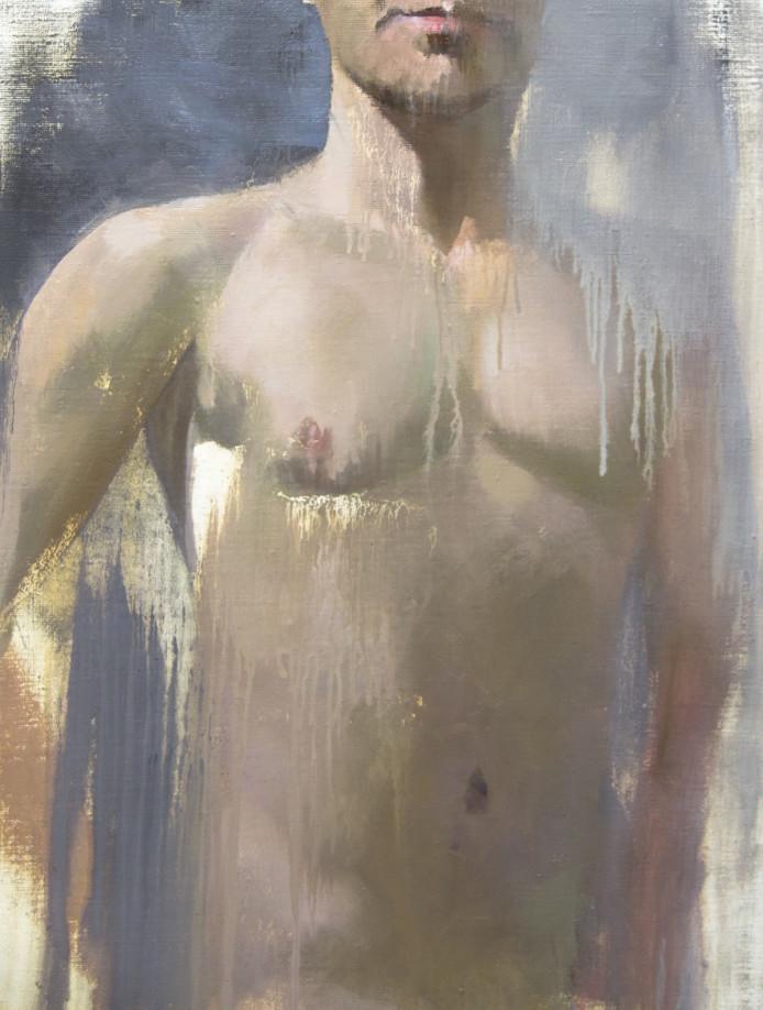 male nude original by Yuri Pysar
